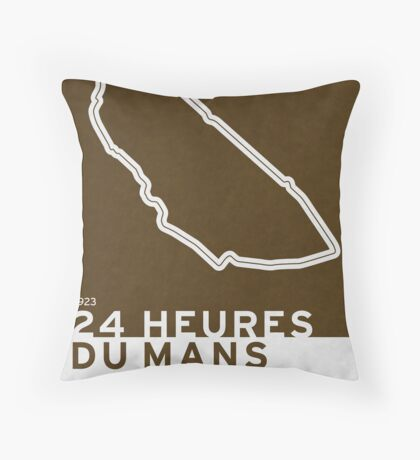 Legendary Races - 1923 24 Heures du Mans Throw Pillow