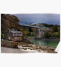 Menai Bridge Poster