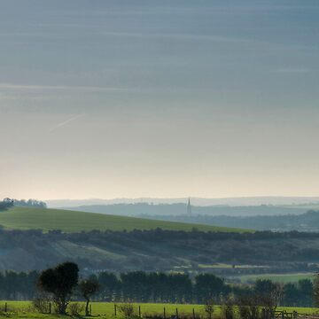 Salisbury from Figsbury Ring by jemmo357
