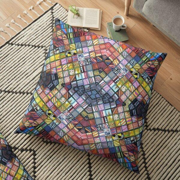 Refractions Floor Pillow