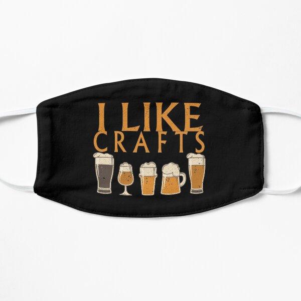 I Like Crafts Beer Pub Nights Gift Idea Flat Mask