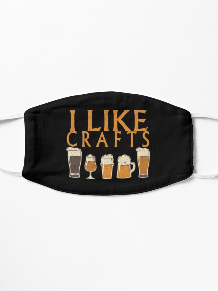 Alternate view of I Like Crafts Beer Pub Nights Gift Idea Mask