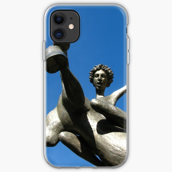 Leaping Into The Sky iPhone Soft Case