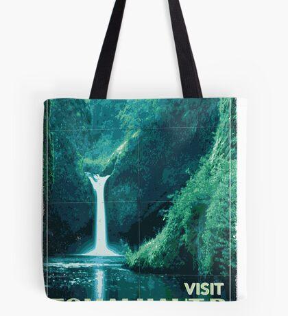 Exoplanet Travel Poster Fomalhaut B Tote Bag