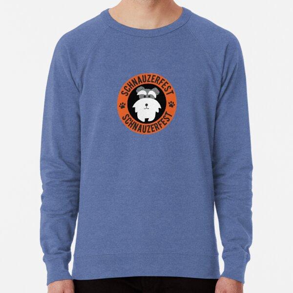 Schnauzerfest Logo Merchandise Lightweight Sweatshirt