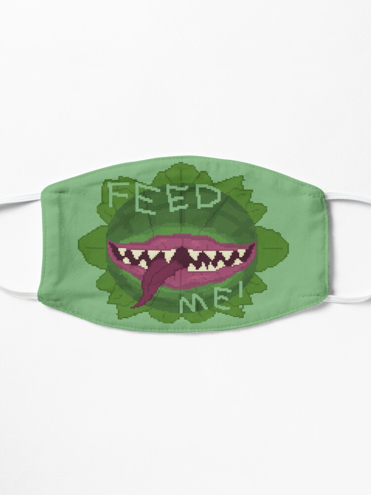 Alternate view of FEED ME! Mask