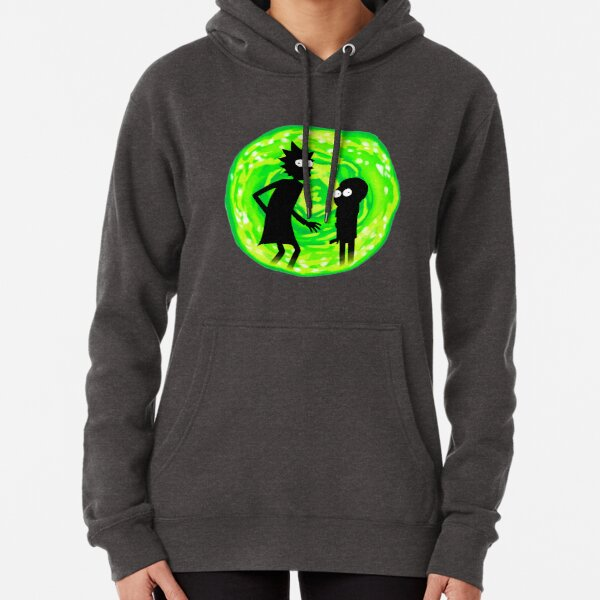 Rick and Morty Portal Pullover Hoodie