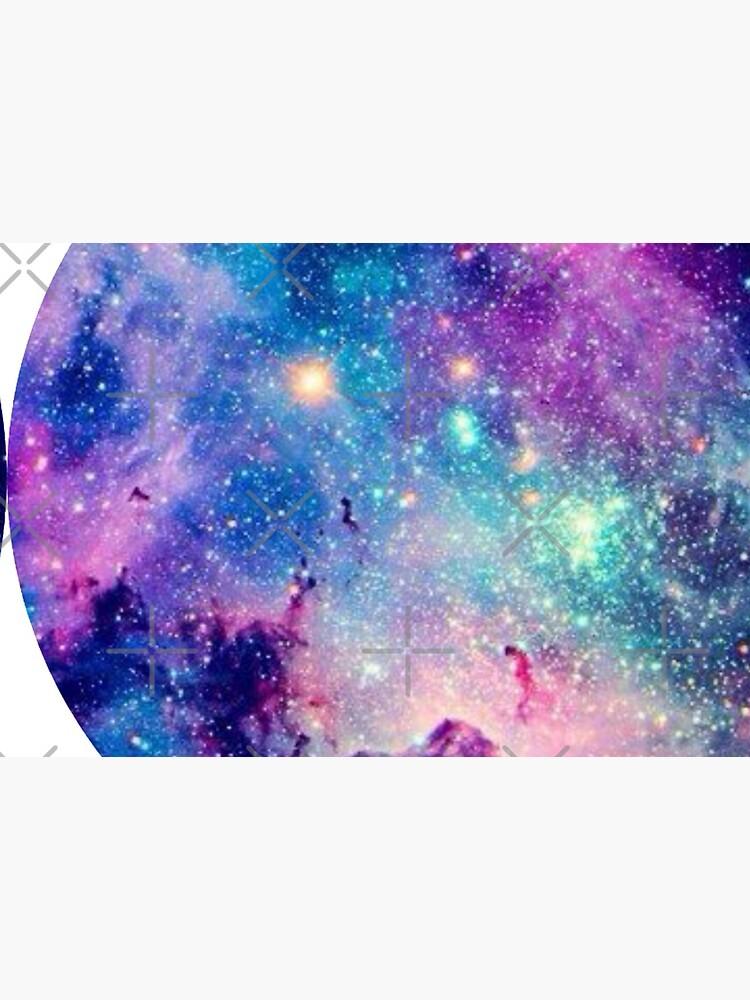 Galaxy print ,galaxy mask ,quarantine galaxy by solveigok