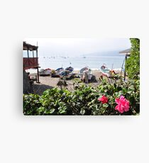 Papudo Bay Canvas Print