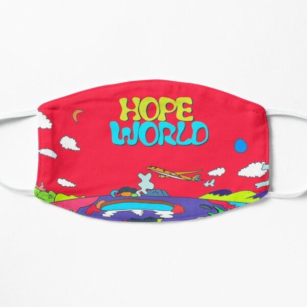 J-Hope Hope World Album Art Flat Mask