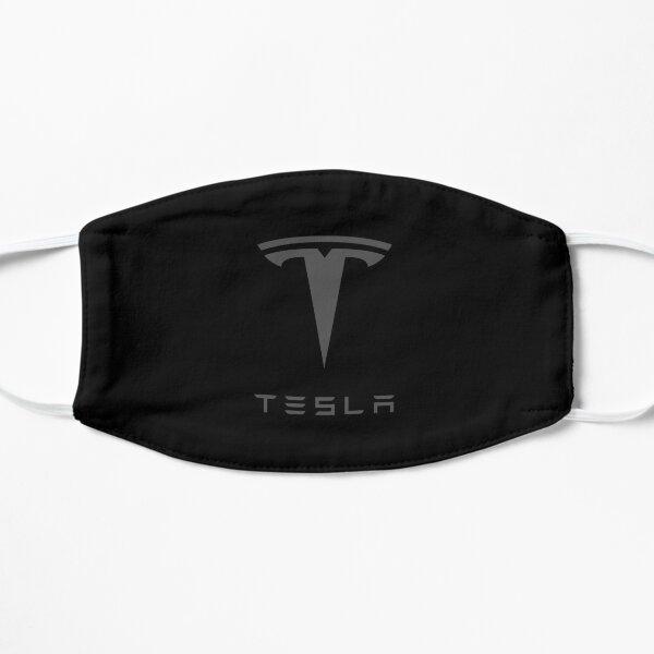 Tesla Dark Grey Fan Art Logo Mask