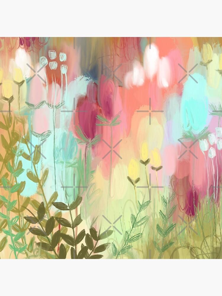 Peachy Meadow  by Hyssopartz