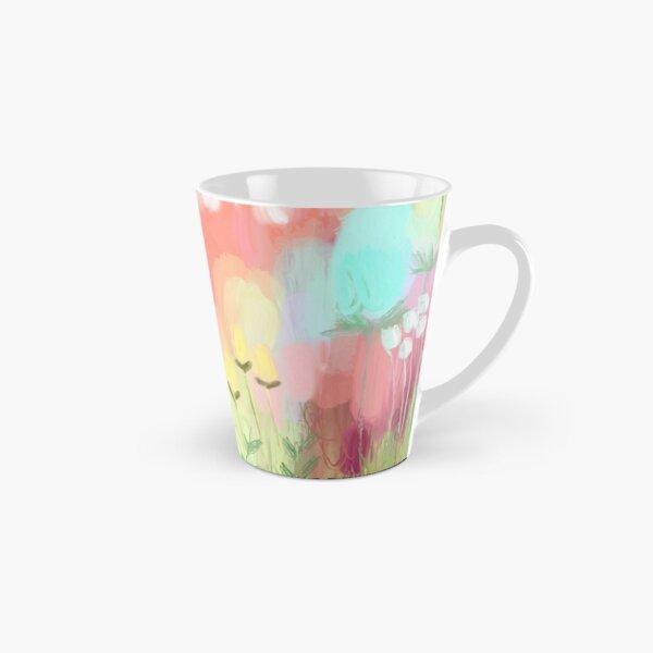 Peachy Meadow  Tall Mug