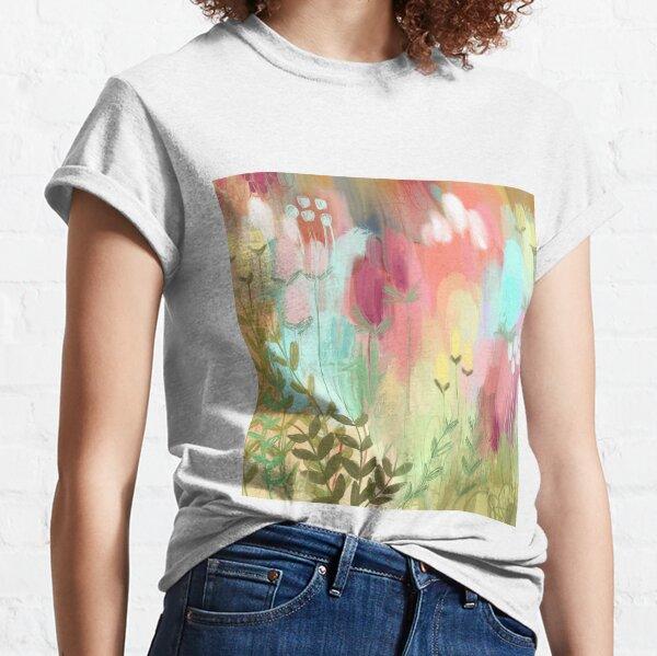Peachy Meadow  Classic T-Shirt