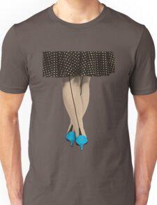 Hot Shoes - Blue! Unisex T-Shirt