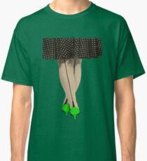 Hot Shoes - Green! Classic T-Shirt