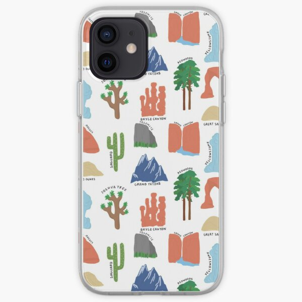 National Parks Print iPhone Soft Case
