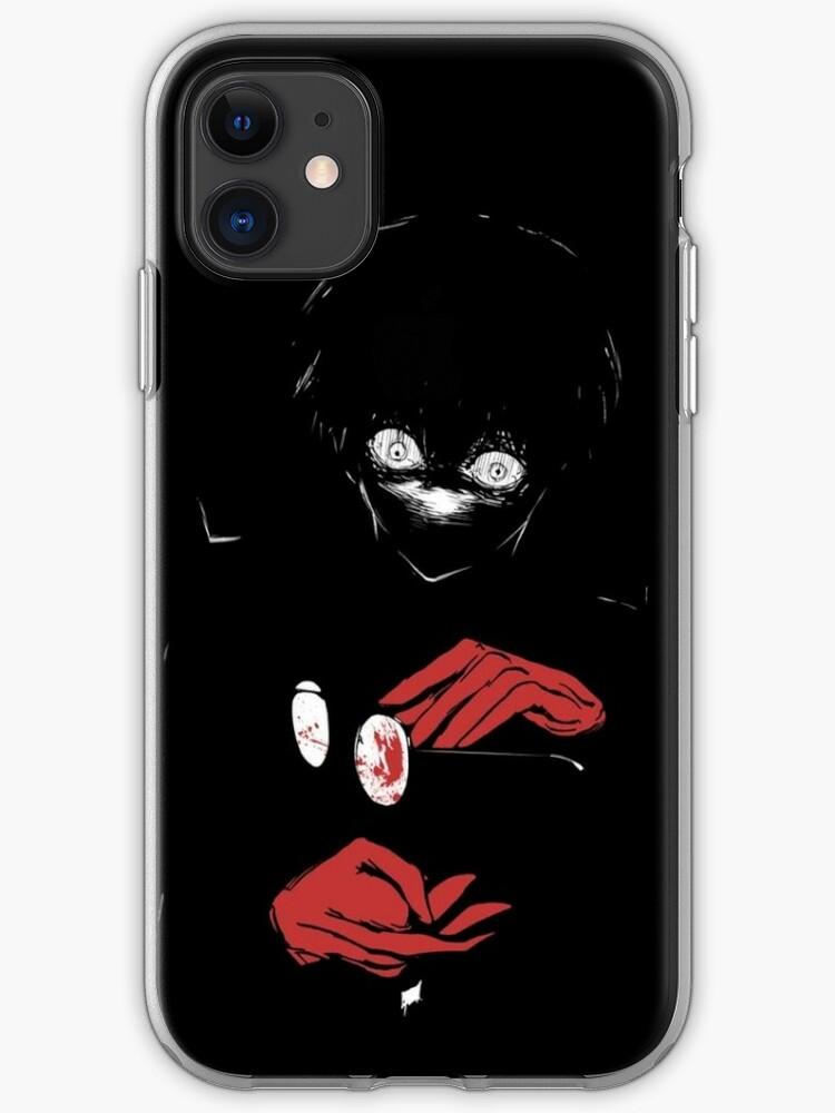 Kaneki Black Reaper Iphone Case Cover By Terpres Redbubble