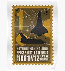 Starship 01 poststamp - Spaceshuttle  Poster