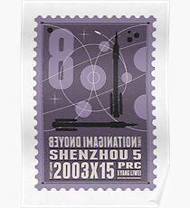 Starship 08 - poststamp - Shenzhou5  Poster