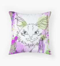 The Mad One Throw Pillow
