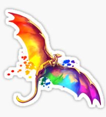Pride Dragon Sticker