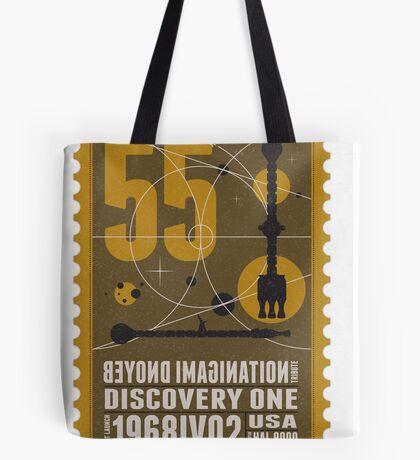 Starship 55 - poststamp - DicoveryOne  Tote Bag