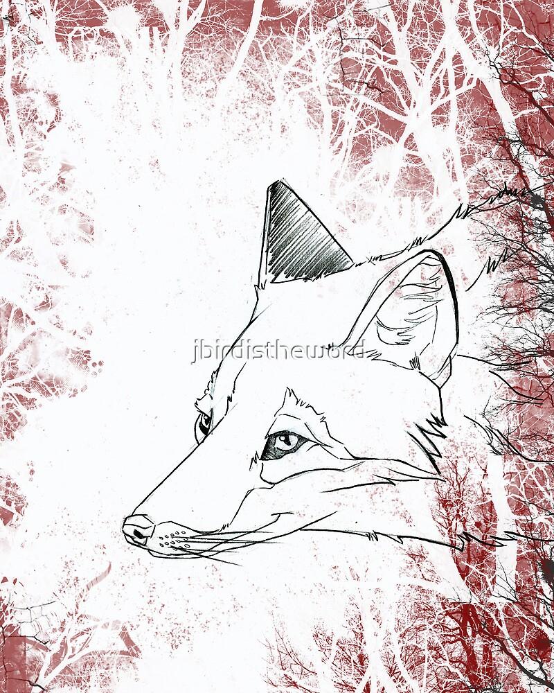 Painted Fox by jbirdistheword