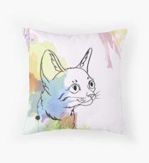The Rainbow One Throw Pillow