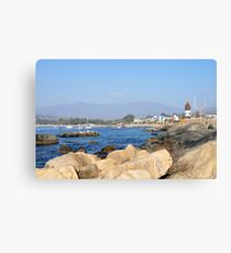 Bay of Papudo Canvas Print