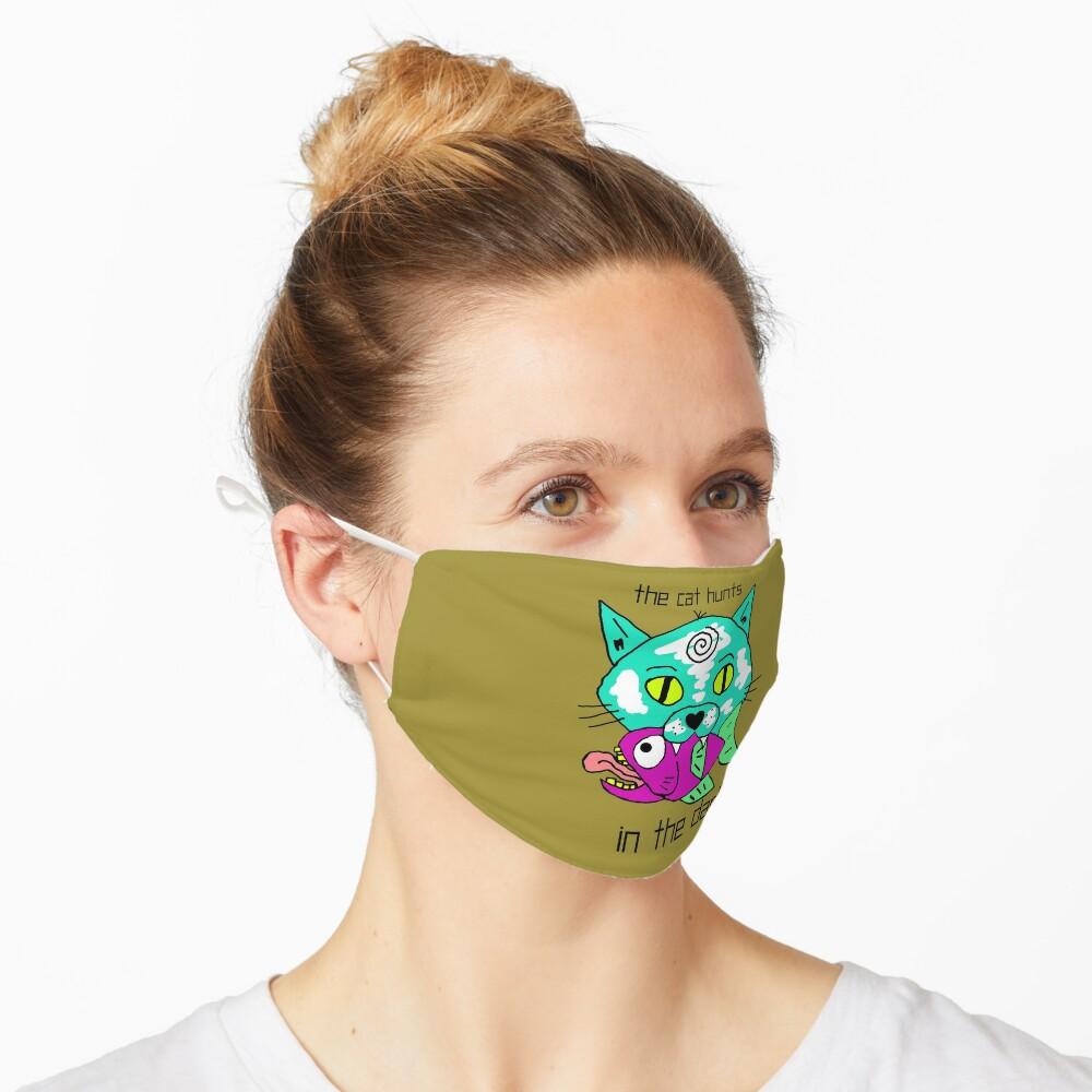 Scykosiz - THE CAT HUNTS Mask