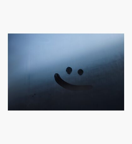 remember to smile! Photographic Print