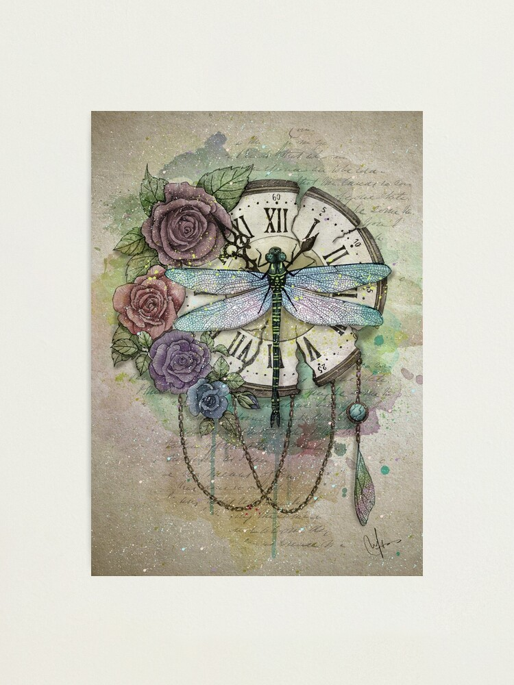 Alternate view of Time Flies Photographic Print