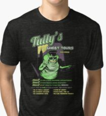 Tully's Ghost Tours Tri-blend T-Shirt
