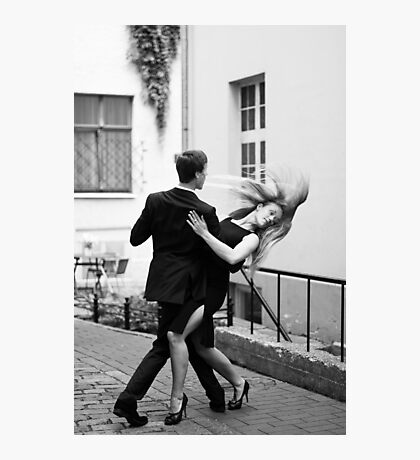 Two dancers Photographic Print