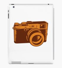 Camera 35mm Vintage Woodcut iPad Case/Skin