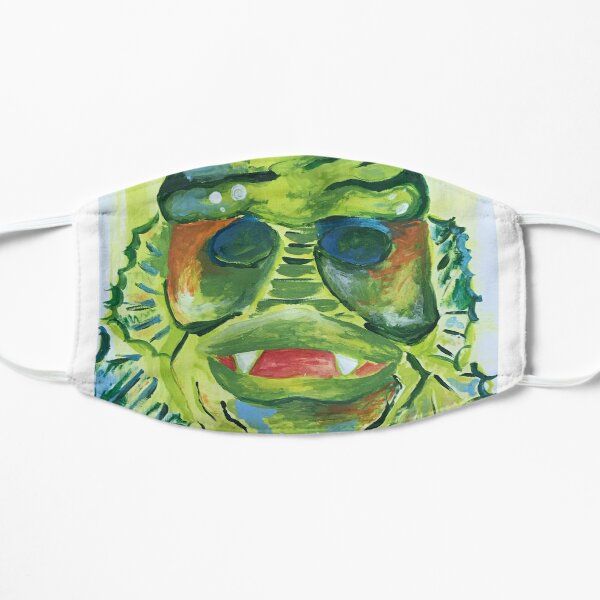 The Creature in Paint Small Mask