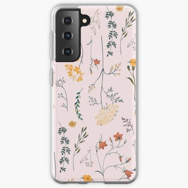 Fleurs Coque souple Samsung Galaxy