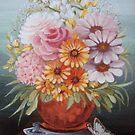 Copper vase by kseniako
