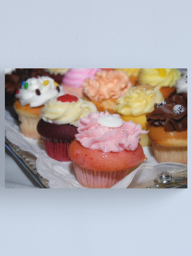 Alternate view of Cupcakes Canvas Print