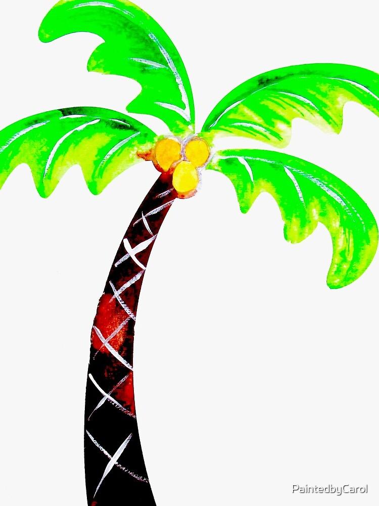 Palm Tree by PaintedbyCarol