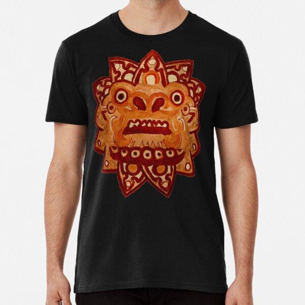 Aztec Quetzalcoatl Dragon  Premium T-Shirt