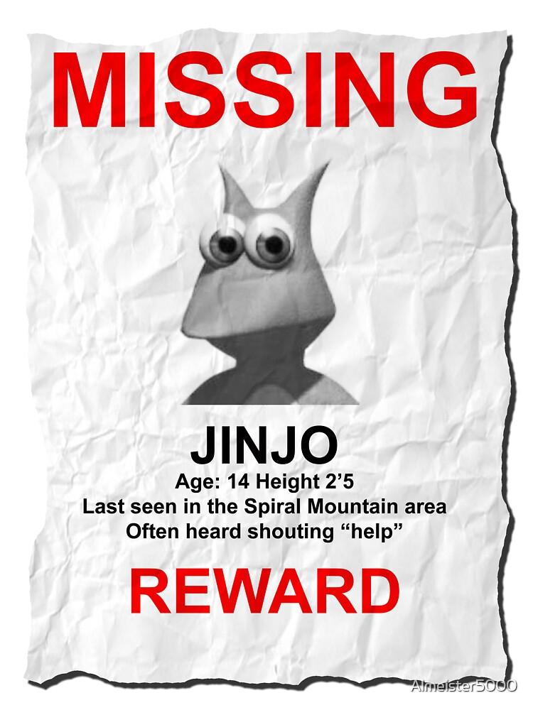 Missing Jinjo by Almeister5000