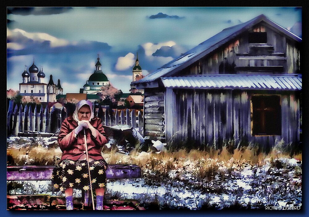 Старая Pоссийская Леди  by Richard  Gerhard