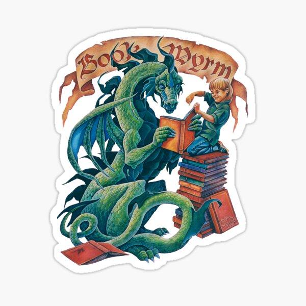 Book Wyrm Sticker