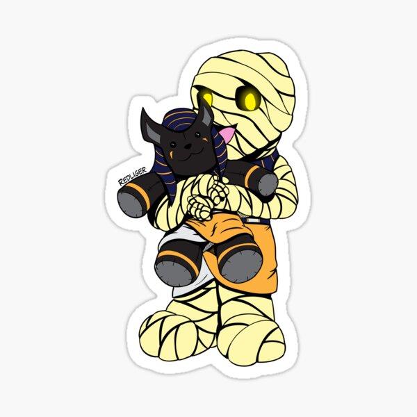 Halloween Monster Delight - Mummy Sticker
