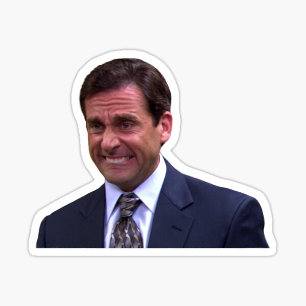 This Is The Worst X Michael Scott - The Office Sticker