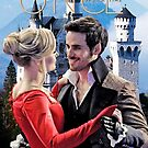 Captain Swan Fairy Tale Watercolor Design 2 by Marianne Paluso