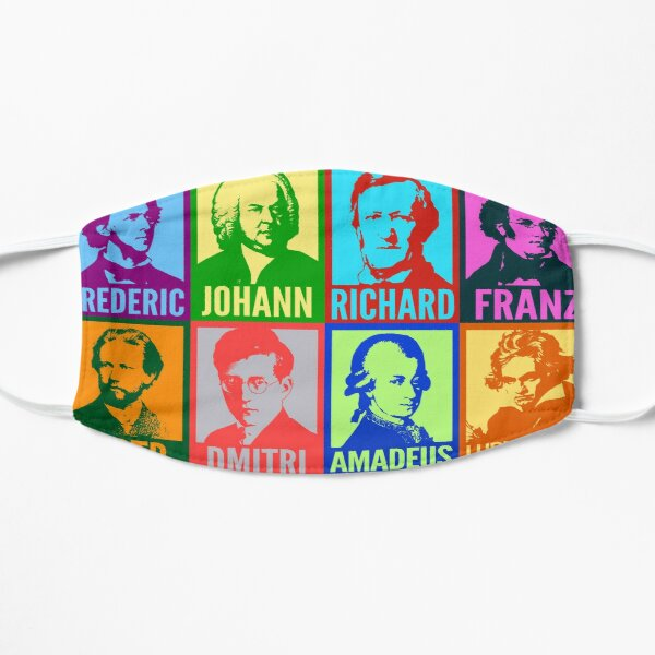 Pop Art Composers Mask
