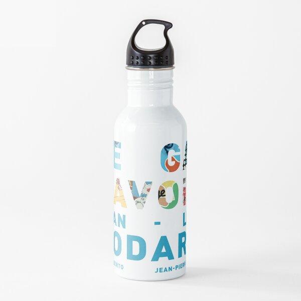 Jean-Luc Godard Water Bottle